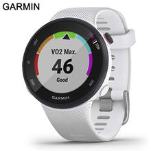 GPS Garmin Forerunner 45s, 39MM Easy-to-Use GPS Running Watch with Garmin Coach Free Training Plan Support women smart watch men(China)