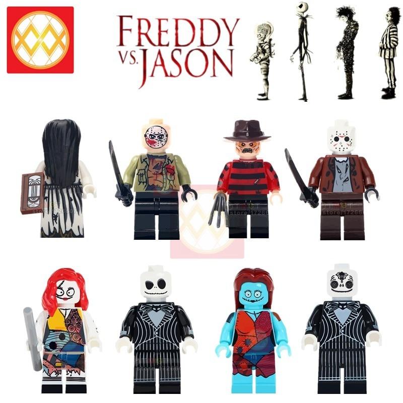 Halloween Horror Jack Skellington Legoings James Bond Coco Day of the Dead Skele