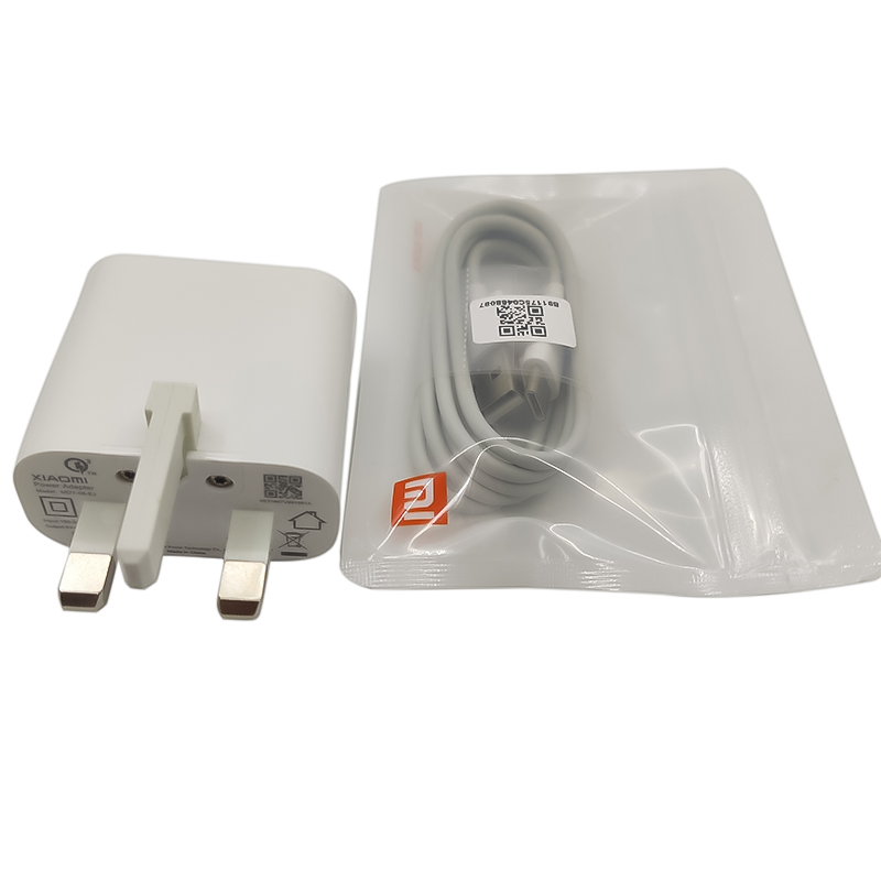 Xiaomi UK Plug Fast Charger Adapter USB Type-C Cable For Xiaomi Mi 9 Pro 9T CC9 CC9e 8 Max 3 Mix 3 2 Redmi Note 8 7 K20 K30 Pro