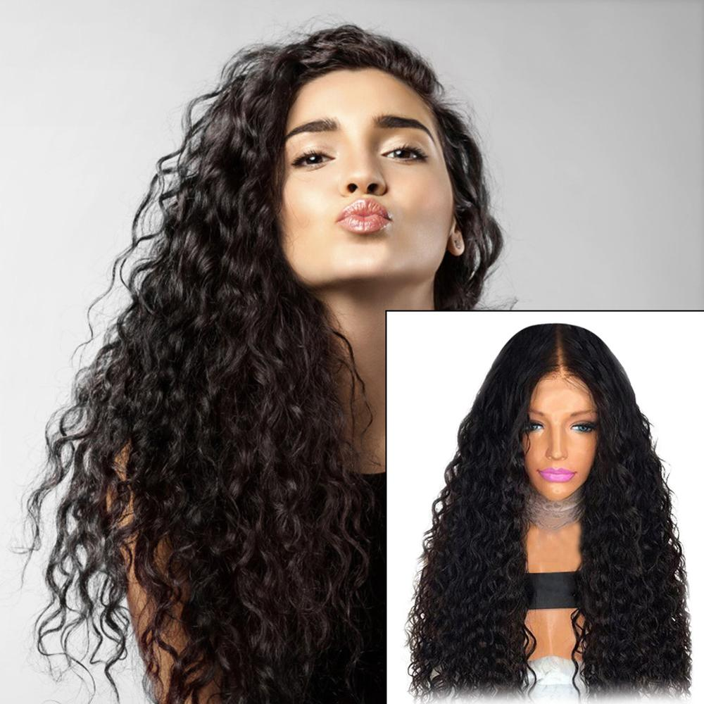 3sizes Human Hair Wigs With Baby Hair Brazilian Remy Hair Short Curly Bob Wigs For Women Pre-Plucked Wig