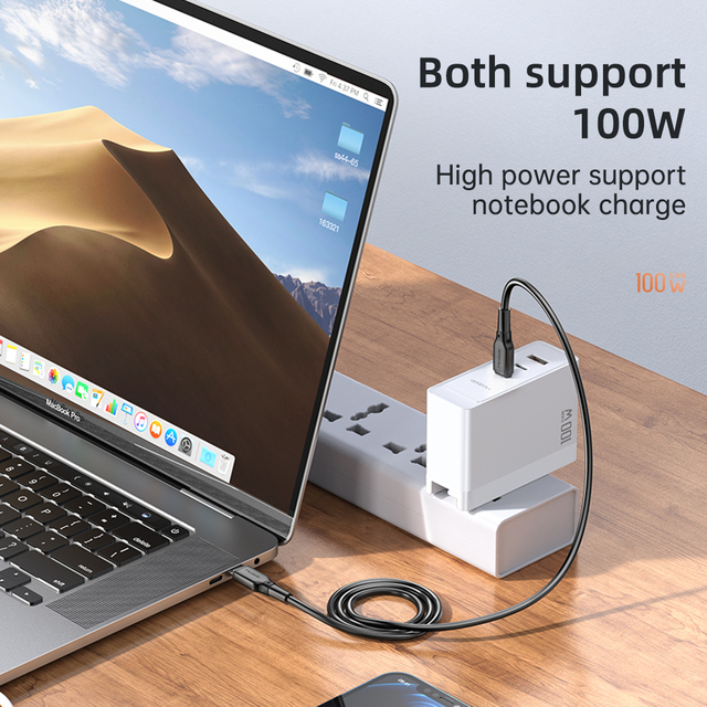 Mcdodo100W PD USB 3 in 1Charger Quick Charge 3.0 Mobile Phone Fast Charging Multi Plug Adapter For iPhone12Pro Xiaomi 1 in 3