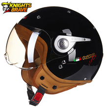 Casco Moto Motorrad Helm 3/4 Open Gesicht Roller Halmet Motocross Vintage Casque Moto Casque Casco Motocicleta Capacete 110A