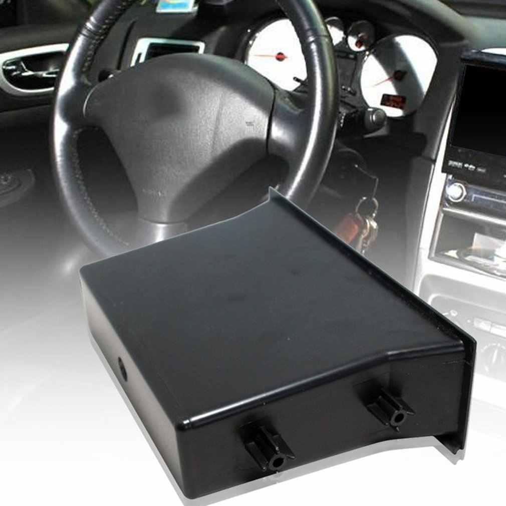 Enkele Pocket Fascia Din Auto Voertuig Radio Cd Opbergdoos Voor Nissan Auto Accessoires Universele Installeren Racing Kit