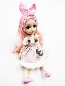 Image 3 - Poupée princesse Dressup avec robe, belle poupée pour filles, 26cm, BJD, nouvelle collection 1/6