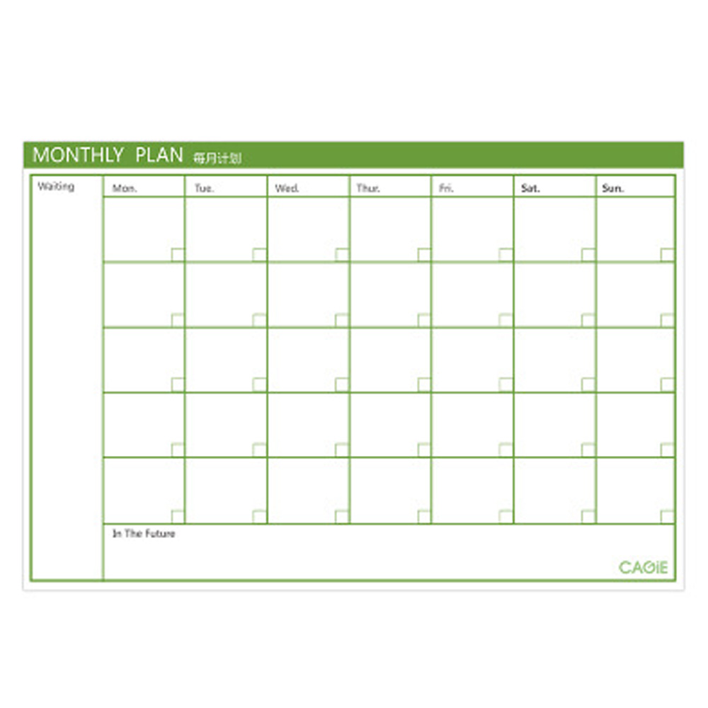 15 Sheets Tearable Monthly Planner Pads Weekly Daily Schedule Memo Notebook For School Office Home Supplies Random Color