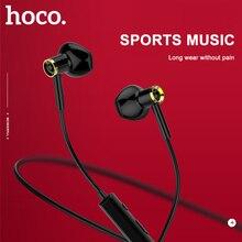 HOCO Originale di Sport In Esecuzione Auricolare Bluetooth Cuffie Senza Fili Con Microfono Stereo surround Bass per iphone huawei Xiaomi