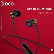 HOCO 원래 스포츠 실행 블루투스 이어폰 무선 헤드폰 아이폰에 대 한 마이크 스테레오 서라운드베이스 huawei Xiaomi