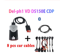 2019 NEW VCI vd ds150e cdp pro plus 2016.r0 with keygen for delphis obd2 diagnostic repair tool led 3in1 Scanner for cars trucks