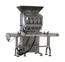 semi auto  powder coffee snus weighing filling machine, China filler