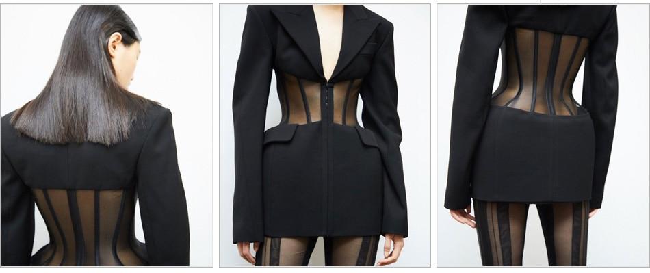 MODEL-black-blazer-shorts_3
