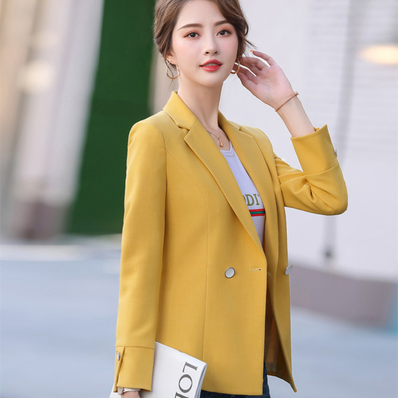 HziriP 2020 New Fashion Slim Business Wear Elegant Women Top Office OL Suit Jacket Formal Blazer Plus Size Turn-down Collar Coat