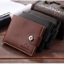 Wallet men leather men wallets purse sho