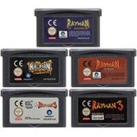 Image 1 - 32 ビットビデオゲームカートリッジコンソールカード任天堂 GBA Rayman 英語版