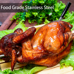 Image 5 - דיגיטלי בשר מדחום מטבח חכם אלחוטי בישול מנגל מזון מדחום Bluetooth תנור גריל מדחום בדיקה חיצוני מתנה