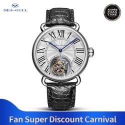 seagull watch tourbillon mechanical watch Couple watch stainless steel watch transparent watch skeleton watches luxury brand