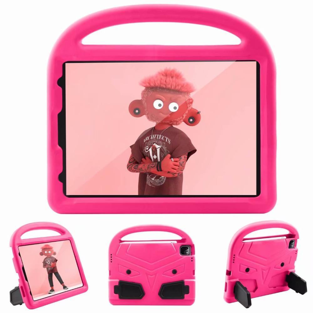 Rose Blue Kids Shockproof EVA Case For iPad Pro 11 2nd Gen 2020 Case Cartoon Handle Stand A2228