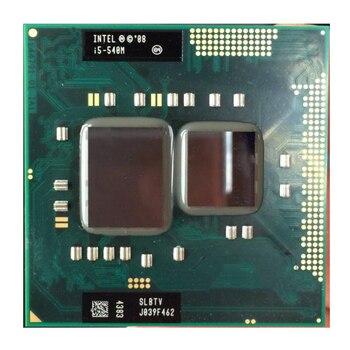 Original CPU for Intel Core i5 580M 560M 540M 520M Dual-Core PGA 988 Notebook Laptop CPU Processor intel sr0ch core i5 2450m 2 5ghz laptop cpu processor socket pga 989
