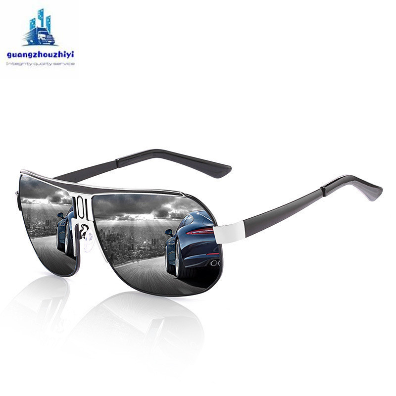 Image 3 - Anti Glare goggle driving glasses polarized men's driver glasses Anti UV oculos outdoor cycling sports sunglasses-in Driver Goggles from Automobiles & Motorcycles