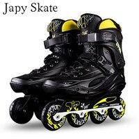 Japy Skate Original Freestyle M3 Professional Slalom Inline Skates Adult Roller Skating Shoe Sliding Free Skating Patines Adulto
