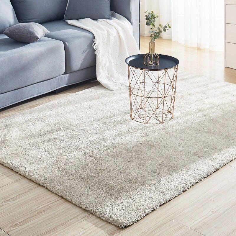 tapis design nordique moderne pour salon chambre a coucher canape table basse bureau salle a manger