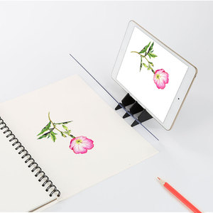 Kids LED Projection Optical Drawing Board Projector Painting Tracing Board Sketch Specular Reflection Dimming Copy Table Plot