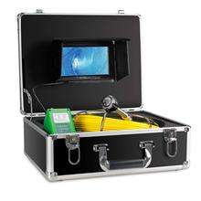 30m DVR waterproof Pipe Wall Sewer Inspection Camera System,Industrial Pipe Car Video Inspection Endoscope Camera with 6leds 40m cable pipeline sewer inspection camera with keyboard dvr function endoscope cmos lens waterproof night version cctv system