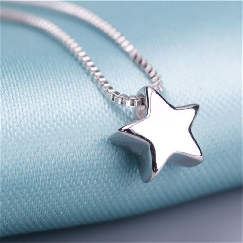 necklace for women Fashion Star Shape Necklaces All products women accessories Necklaces f02846ee759da375bf7e2a: JN0070-Silver|JN0121-Silver