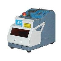 Máquina de corte chave de MIRACLE-A7  fácil de transportar luz único-face e dupla face chave padrão e máquina de corte chave do laser