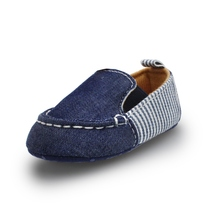 New Born Baby Boy Girl Shoes Summer Aautumn Casual Denim Str