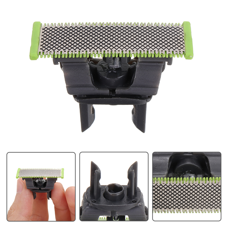 1Piece Durable Replacement Razor Blade Head For Philips QP6510 QP6520 QP2523 QP2530 QP6523 OneBlade Razor Blade Head