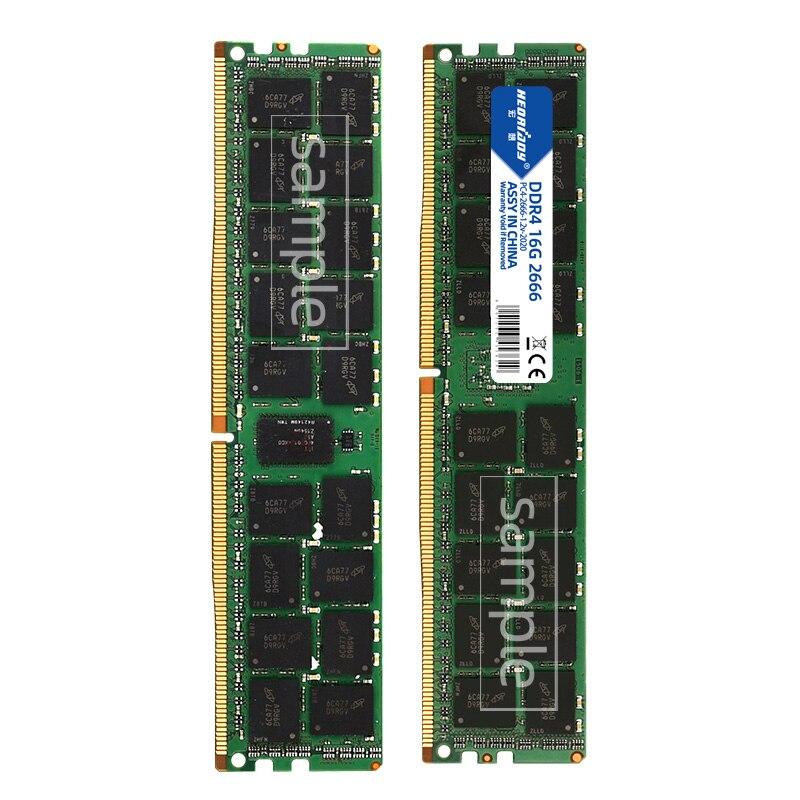 DDR4 32GB ecc reg ram 2133MHz 2400MHz 2666MHz PC4 RDIMM compatible 8GB 16GB 3