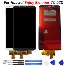 For HUAWEI Enjoy 8 LCD Display For Huawei Honor 7C screen LND AL30 L22 LCD Display Touch Screen Digitizer Assembly 5.99