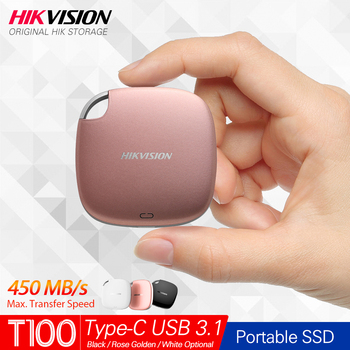 Hikvision HikStorage Portable SSD 120GB 240GB External SSD 960GB Disk Drive 480GB SSD USB3.1 Type-C Solid State Disk 3 Color SSD