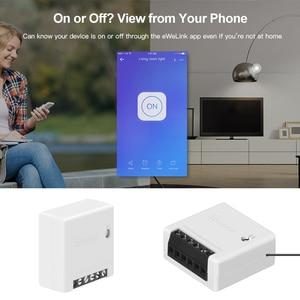 Image 3 - Sonoff Mini Twee Manier Intelligente Switch Diy Appliance Automation Afstandsbediening Schakelaars Voor Alexa Google Thuis Wifi Smart Switch