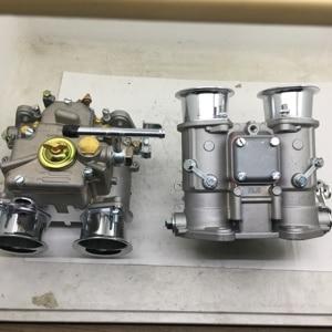 Image 2 - SherryBerg (2x) 45 Dcoe 152 carburador doble con cuernos de aire para Toyota 22R 2013 2018 Pickup Weber Solex dellorto CARBY