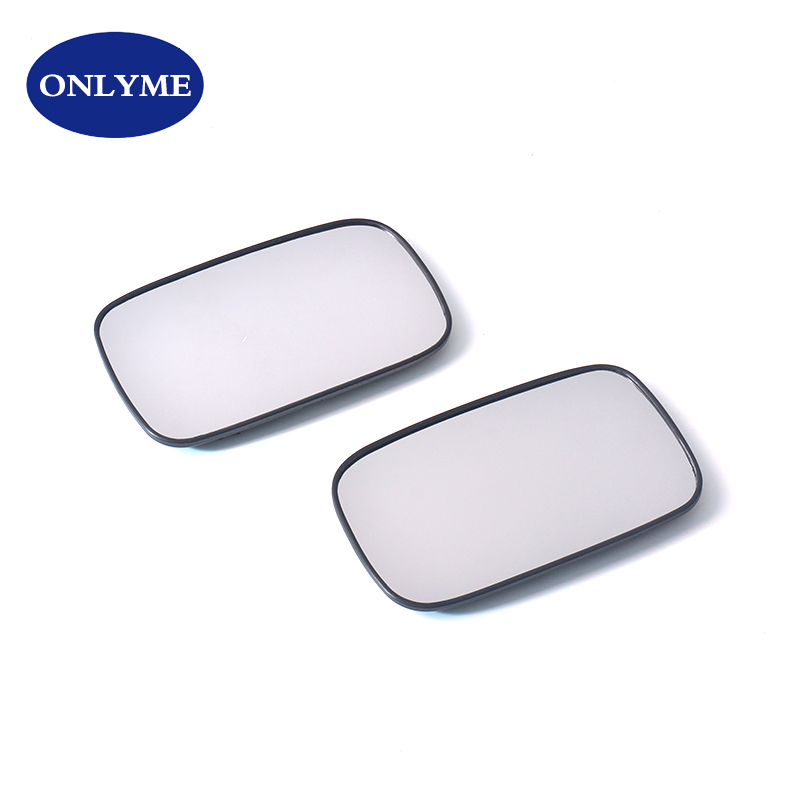 Driver side Clip Heated Wide Angle wing mirror glass for Volvo S40 95-04