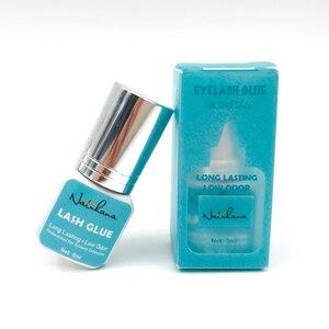 Image 2 - NATUHANA 5ml Eyelash Extension Glue 1 Seconds Fast Drying Eyelashes Glue Pro Black Lash Glue Makeup Tool Adhesive