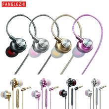 Earphone with Microphone In-Ear Wired Earpiece 3.5mm Super Bass Earphones For iphone xiaomi earphone for Smartphone 2019 New