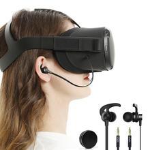 سماعات داخل الأذن سماعات متوافقة مع سماعات VR كوة كويست مع صندوق تخزين سماعات الأذنملحقات نظارات VR/AR