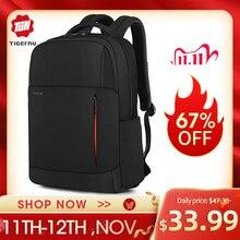 Tigernu nouveau multifonction hommes sac USB charge voyage sac à dos mâle sac à dos pour ordinateur portable sac pour adolescent sac à dos