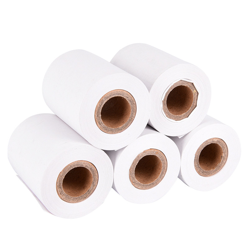 1 Roll For 58mm Thermal Printer Thermal Paper 57x50mm Thermal Receipt Paper POS Cash Register Receipt Roll