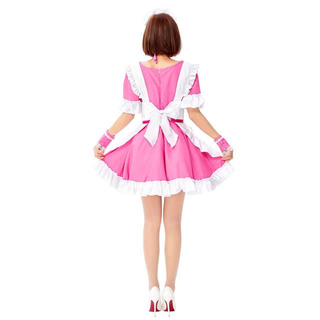 Women's Halloween Maid Dress