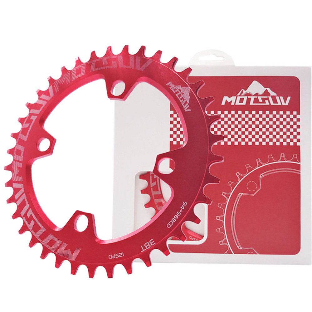 MTB Mountain bike bicycle chainring 96BCD 32//34//36//38T Single plate M7000-M9000