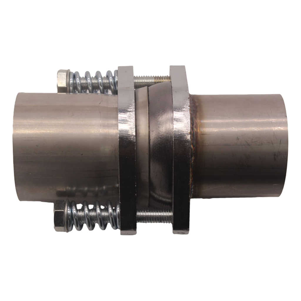 """3/"""" inch I.D Stainless Exhaust Spherical Joint Spring Bolt Flange Pipe Repair"""