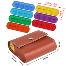 7 Days Weekly Transparent 7/28 Compartment Lid Tablet Pill Box Holder Medicine Storage Organizer Case Container