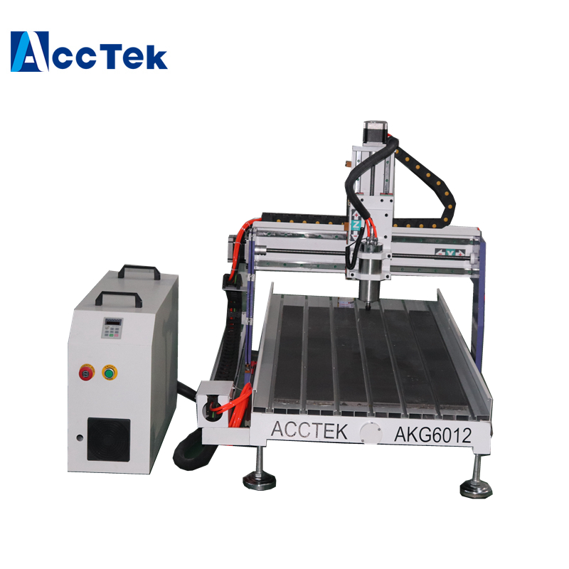 Good Choice For Advertisiong Job. Working On Brass ,aluminum,plastic Machine Cnc 6012 Cnc Router AKG6012