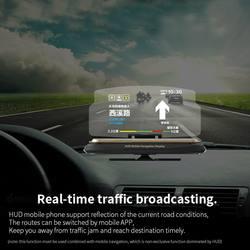 Автомобильный навигационный дисплей HUD, кронштейн для проектора, автомобильный держатель для мобильного телефона для любых автомобилей и