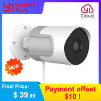 YI loT Outdoor Camera 1080P Weatherproof Wireless IP Cam Night Vision Security Surveillance Camera YI Cloud Available EU