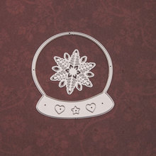 Christmas Crystal Frame Metal Cutting Dies Snowflake Decoration for DIY Scrapbooking Paper Cards Crafts New 2020 merry christmas words flower stripe hot sell hot foil plates for scrapbooking diy paper cards crafts decoration new 2019
