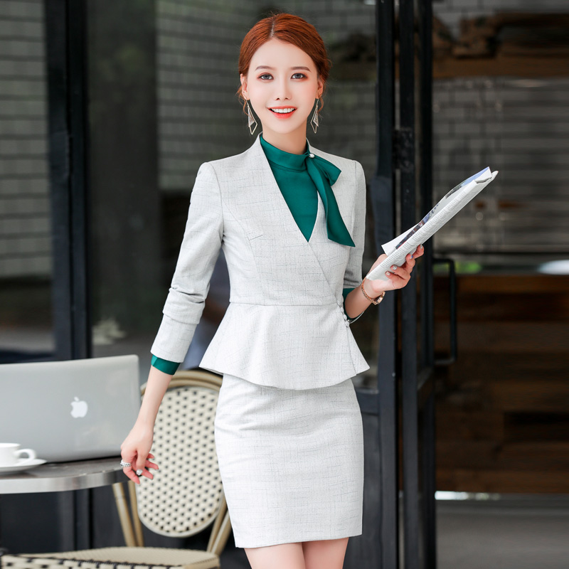 Professional Women's Suits Fall/winter New Style Temperament Fashion Manager Formal Wear Jewelry Hotel Work Clothes